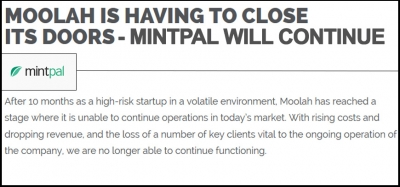 Mintpal Changes Management