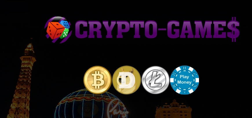Crypto-Games - New service to play with BTC, LTC and DOGE
